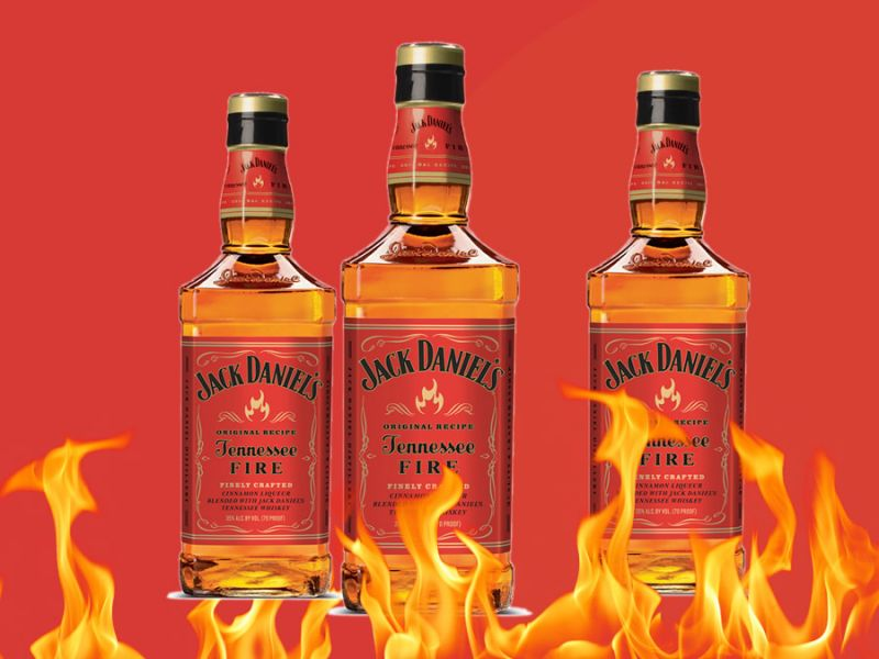 Jack Daniel's Fire Tennessee Whiskey