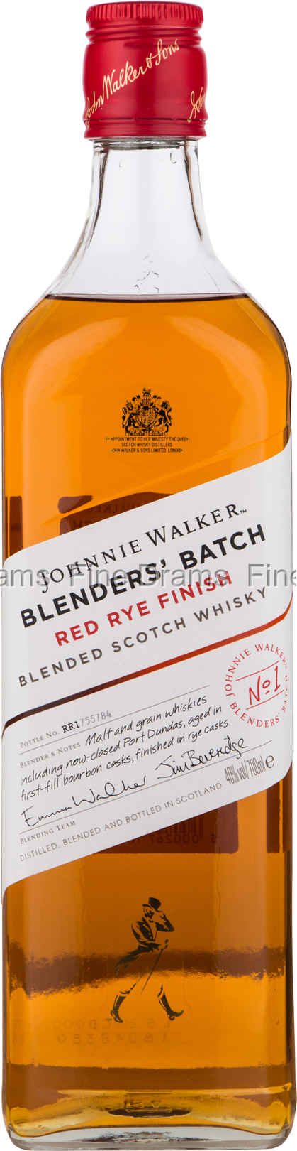 Johnnie Walker Blender's Batch Red Rye Finish