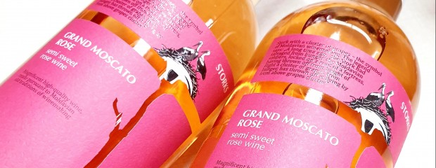 Storks Grand Moscato Rose